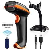 Tera Kabellos Barcode Scanner Wireless 1D mit...